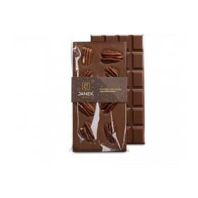 Mléčná čokoláda s pekanovými ořechy
