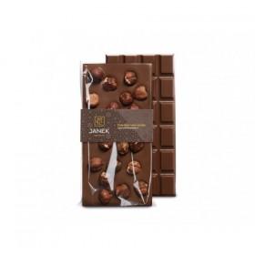 Mléčná čokoláda s lískovými ořechy