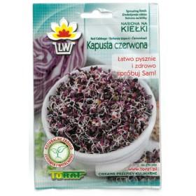Semena na klíčení - Červené zelí - 10g