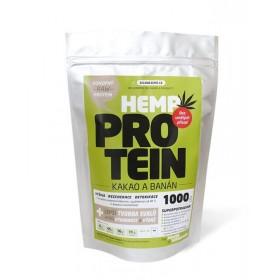 Konopný protein kakao/banán (1kg) - Zelená Země