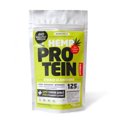 Konopný protein BIO (125g) - Zelená Země