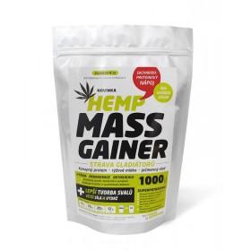 Konopný Mass Gainer (1kg) - Zelená Země