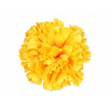 Karafiát KVĚT umělý žlutý 9cm
