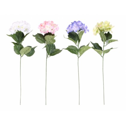 Květina HORTENZIE KVĚT X1 mix 65cm 14cm
