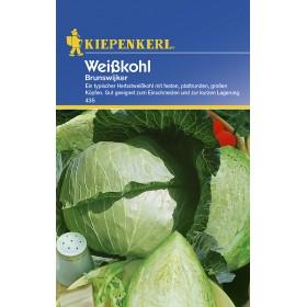 Zelí bílá lé Brunswijker - semena zelí