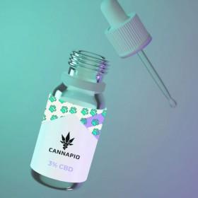 CBD olej pro zvířata 3% - 10ml Cannapio