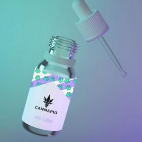 CBD olej pro zvířata 4% - 10ml Cannapio