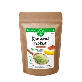 Zelená Země Konopný protein kakao/banán 125 g