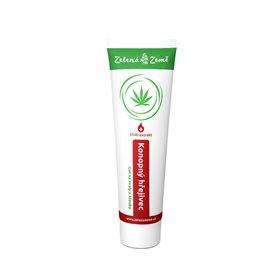 Zelená Země Thermocann hřejivé konopné mazání 100 ml