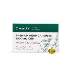 Enecta Prémiové konopné kapsle CBD 10%, 1000 mg