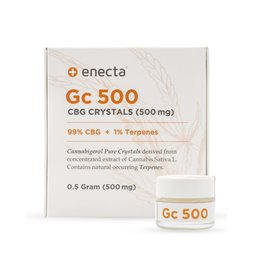 Enecta CBG krystaly 99%, 500 mg