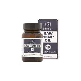 Endoca RAW CBD kapsle 3%, 300 mg
