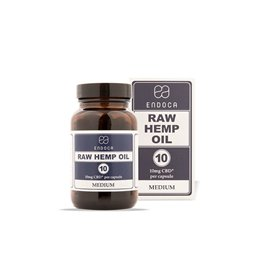 Endoca RAW CBD kapsle 12%, 1200 mg