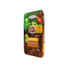 Substrát RAŠELINA PREMIUM s vermikompostem pro zeleninu 50l