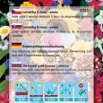 Letničky k řezu - Směs druhů a barev - semena 1 g