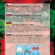 Pelargonie Páskatá F1 - Červená - 10 ks