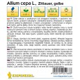 Cibule Zittauer žlutá