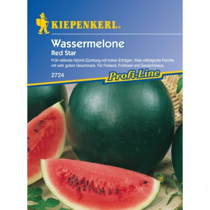 Vodní meloun Red Star - semena vodního melounu