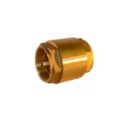 Zpětný ventil mosazný Ø20mm-16atm.