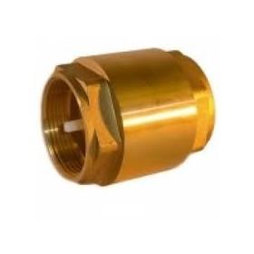 Zpětný ventil mosazný Ø25mm